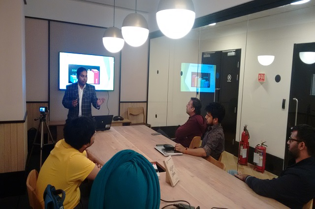 Corporate Training of AWS at Wework, Gurgaon