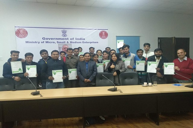 Certificate Distribution to Professionals post Workshop